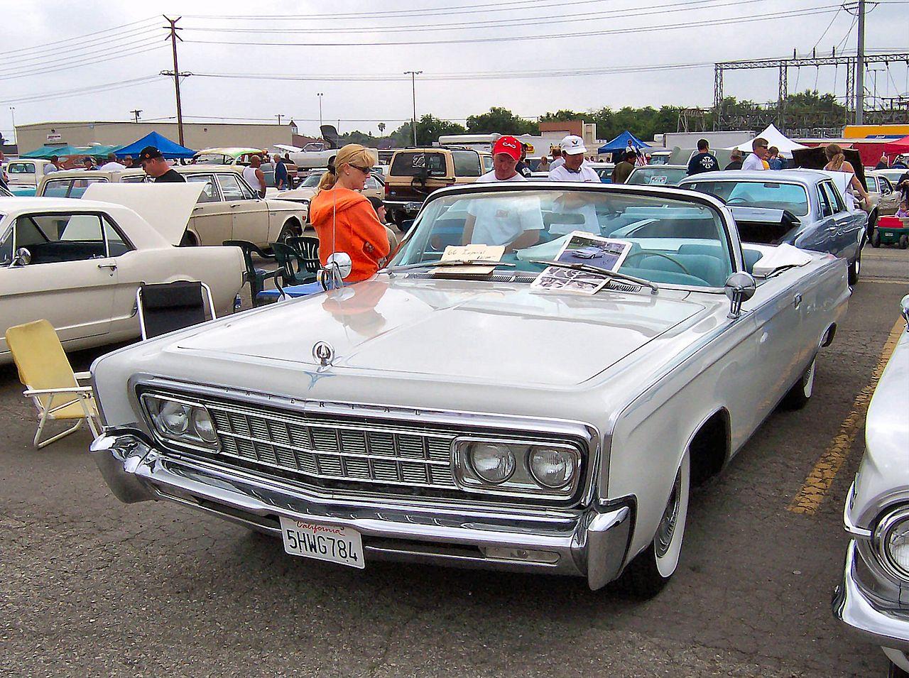1966 Chrysler Imperial Crown convertible – Myn Transport Blog
