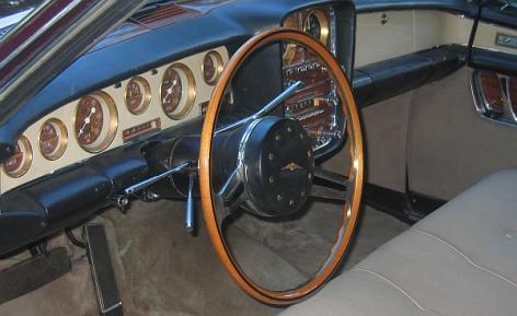 1966 Duesenberg Ghia Torina Virgil M Exner 6d