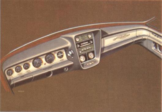 1966 Duesenberg Ghia Torina Virgil M Exner c