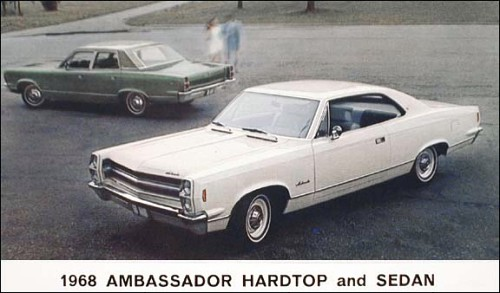 1968 Amc ambassador sedan