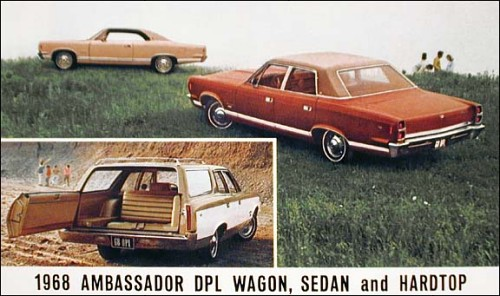 1968 Amc ambassador sw