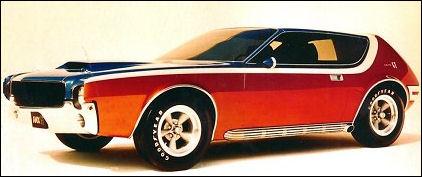 1968 Amc amx gt