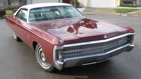 1969 Chrysler Imperial LeBaron coupe