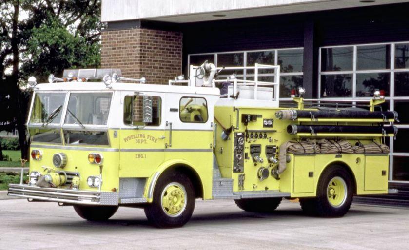 1969 Ward LaFrance P80 Ambassador engine