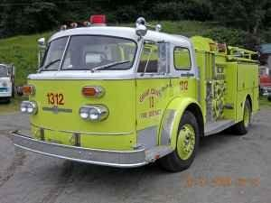 1970 American LaFrance Type 900 pumper. Tacoma Engine 17