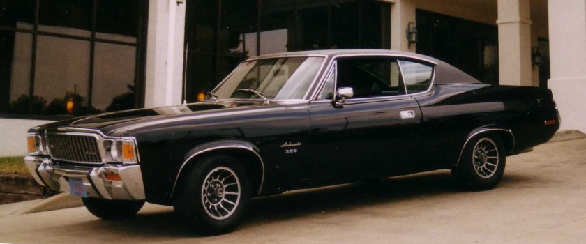1971 AMC Ambassador 2-door hardtop coupe