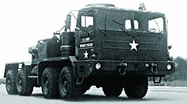 1973 Ward LaFrance М746, 8x8