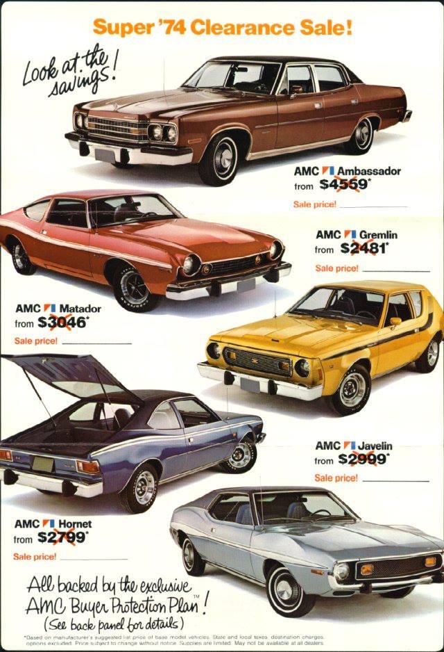 1974 AMC's