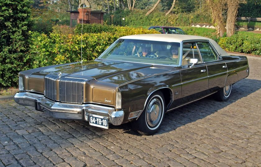 1974 Chrysler Imperial LeBaron Hardtop Sedan