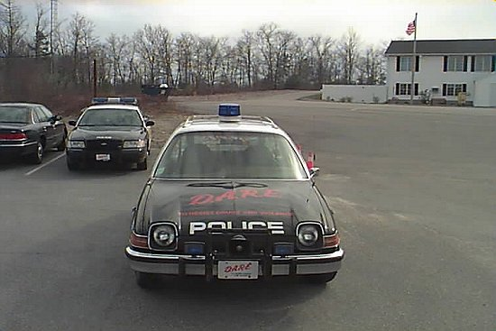 1975 AMC Pacer Patrol Car