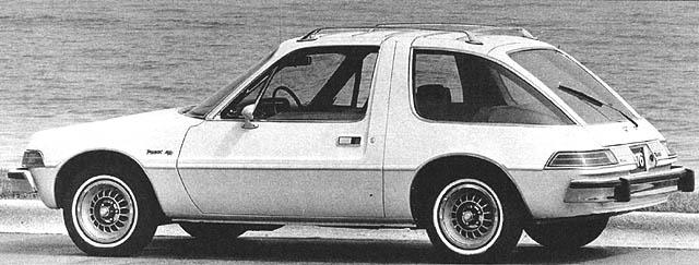1976 AMC Pacer D-L Hatchback Sport Coupe r3q