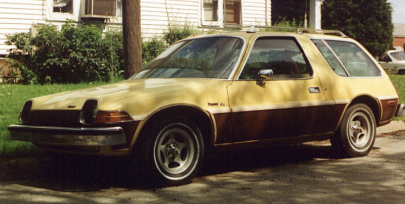 1976 AMC Pacer Wagon yellow