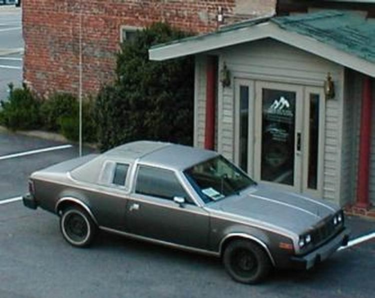 1980 AMC Concord 2 door