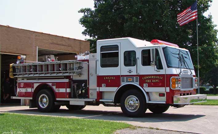 1980 American LaFrance Metropolitan Chassis E-One Pumper 2002