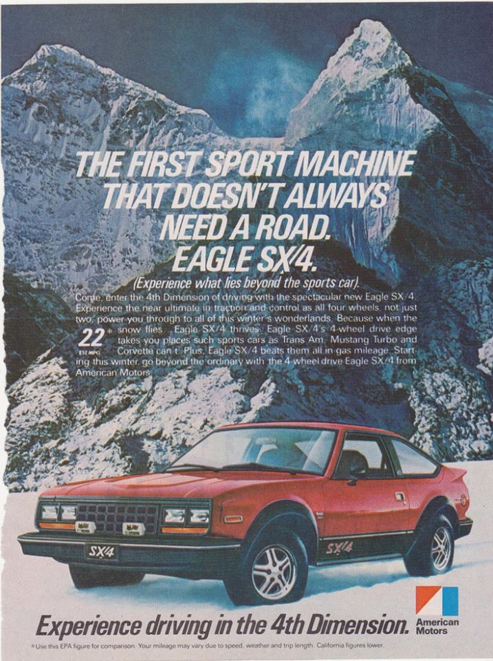 1981-83 AMC Eagle SX4