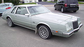1981 Chrysler Imperial personal luxury coupe
