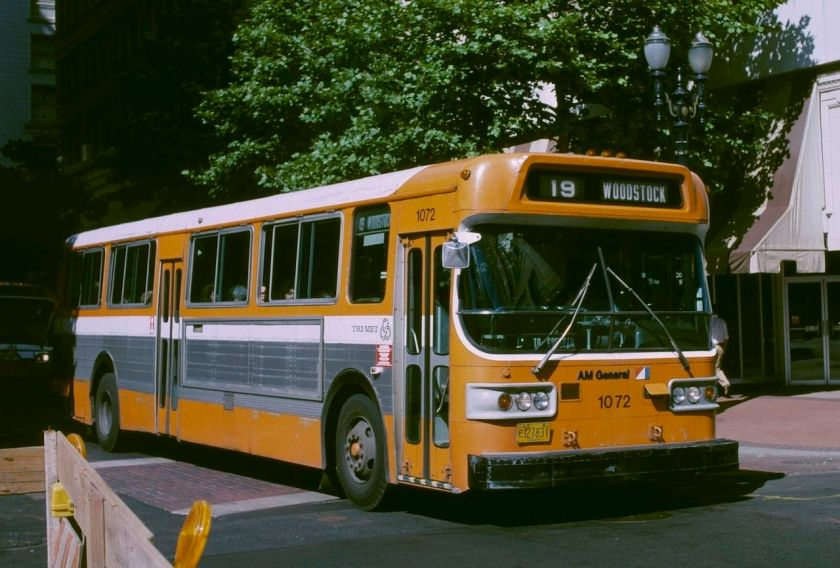 1984 AM General transit bus