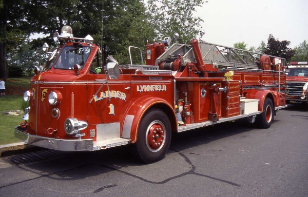 1997 American LaFrance aerial