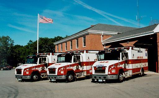 2000 Freightliner - American LaFrance - Aero Medic Master ambulances