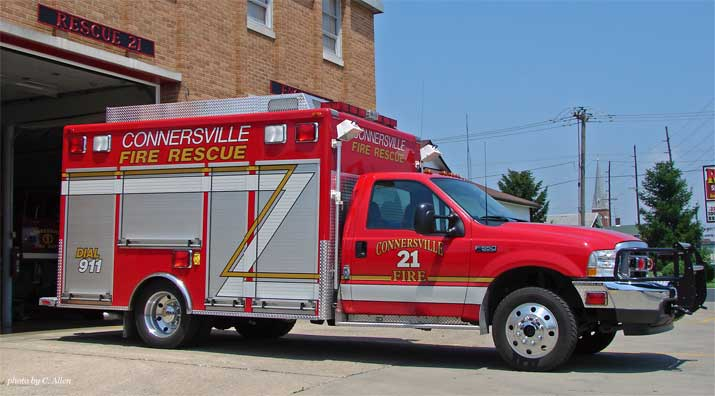 2002 American LaFrance Ford F550 Light Rescue