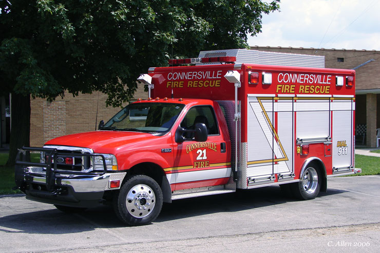 2002 American LaFrance-Ford F550 Medium Rescue