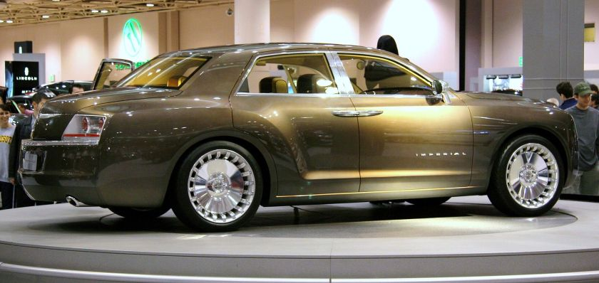 2007 Chrysler Imperial concept side view