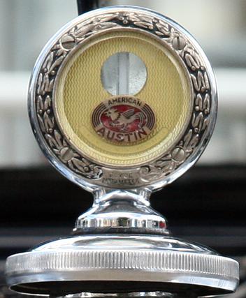American Austin hood ornament a