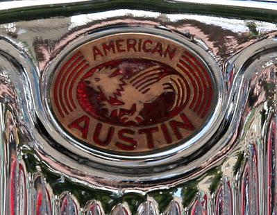 American Austin hood ornament b