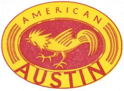 American Austin Logo 1930 magazine sm