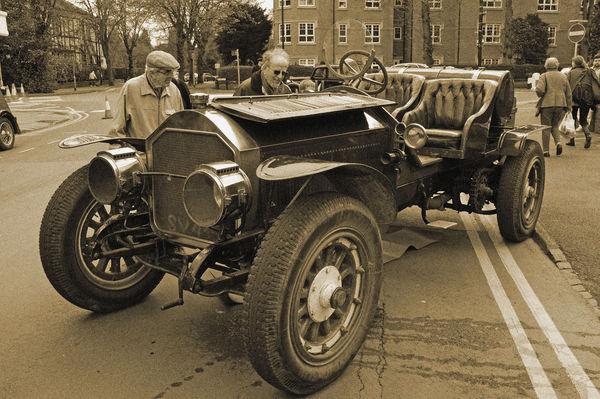 American la France vintage car