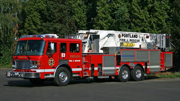 American LaFrance-LTI - 93ft aerial