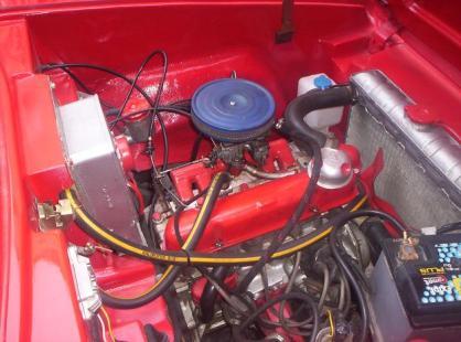 Anadol A1 1300 cc Ford Kent motor
