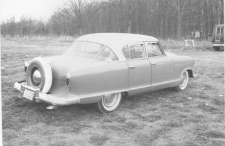 Nash Rambler 4-door sedan Custom with continental tire