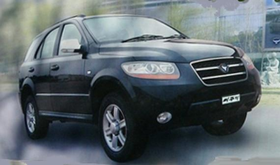 PPEOKPUGGI 2405 4WD (second model), also named PREMIO CUV Chinese Huanghai Shugan kits SUV Clone