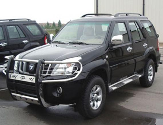 PPEOKPUGGI 4WD, also named PRONTO Chinese Huanghai Shugan kits SUV Clone