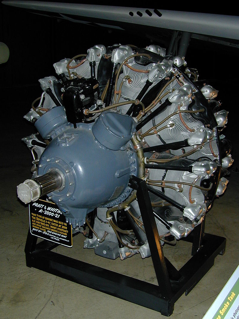 R-2800 Double Wasp Pratt & Whitney Engine