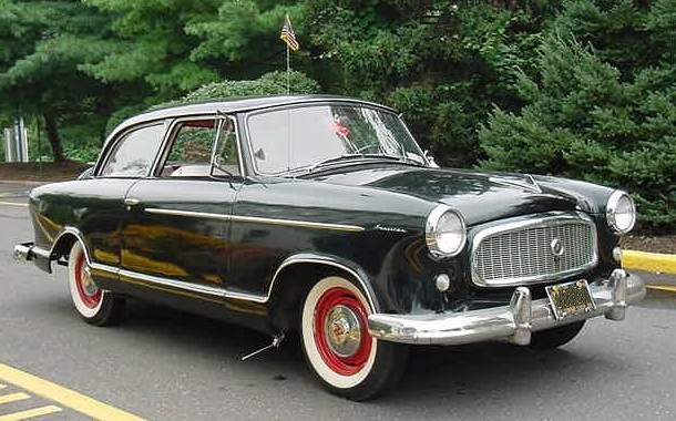Rambler American 1st-generation black sedan