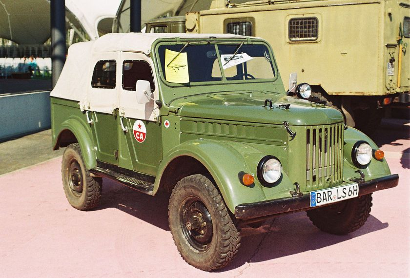 Sungri-4.25 or GAZ-69A