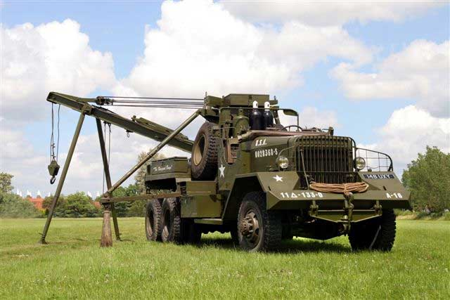 Ward La France M1A1 Heavy Wrecker a