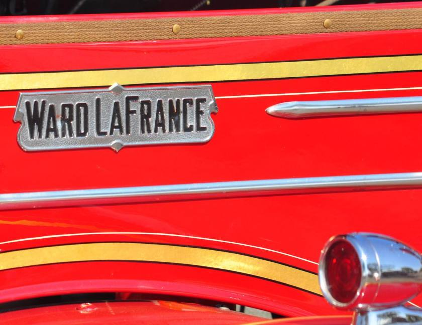 Ward La France nameshield with light