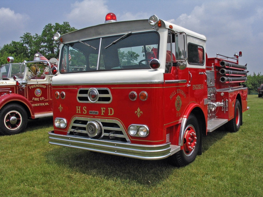 WARD LAFRANCE FIRE PUMPER