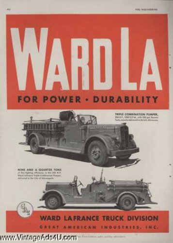 Ward LaFrance-fire-trucks