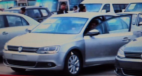 ZUNMA 1606 2013 Chinese FAW Volkswagen Sagitar Clone