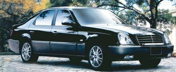 ZUNMA South Korean Ssanyoung Chairman Mercedes Benz Clone