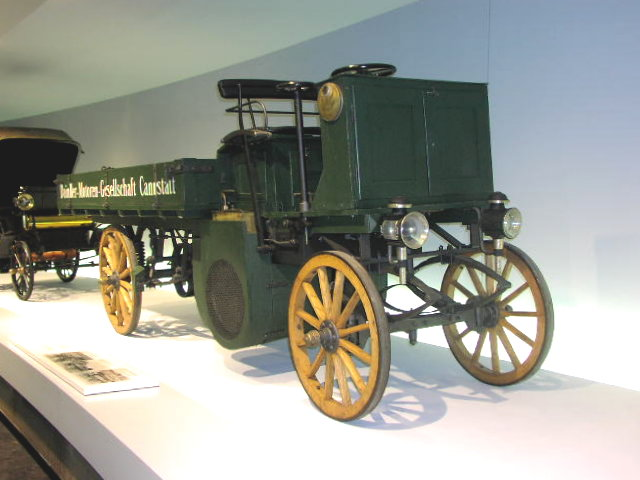 1896 Daimler-Lastwagen