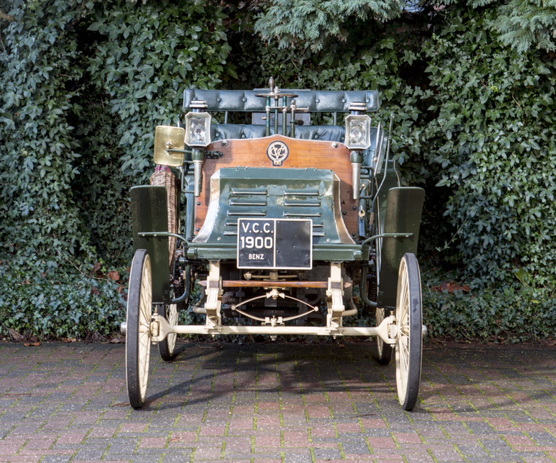 1900 Benz & Cie Ideal 41-2 HP Single Cylinder Vis-à-Vis