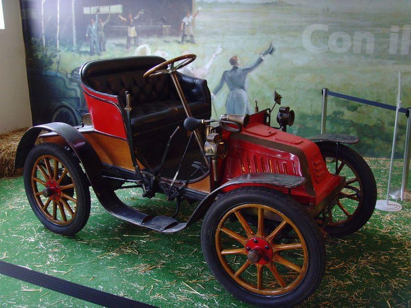 1902 Isotta Fraschini 6 1-2 HP