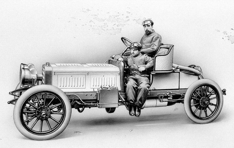 1903 Benz Parsifal 60 horsepower racing car