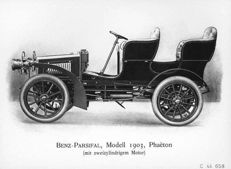 1903 Benz Parsifal Phaeton
