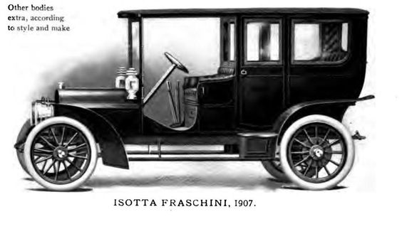 1907 Isotta Fraschini 1907